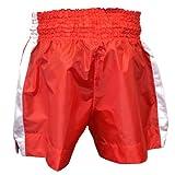 TurnerMAX Thai Shorts Boxing Training Red