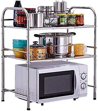 SHELF Estante de baño de cocina, rejillas de horno de microondas ...