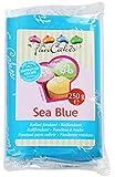 FunCakes Blu Mare - Fondante Rotolato, 250 grammi