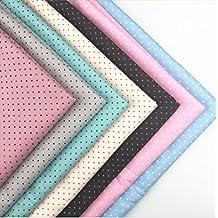 Twill Mini Dot Printed 100% cotton patchwork 4050cm quilting fabric fat quarter bundle set Diy Sewing Textile Cloth