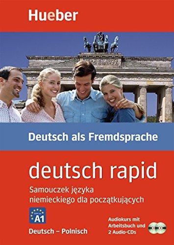 Deutsch rapid 2 Audio-CDs m. Begleitbuch Deutsch-Polnisch