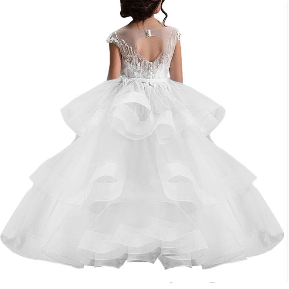LYCLOTH Vestido De Princesa Niña Vestido de princesa Tutu de la ...