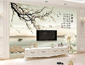350cmX245cm Large 3d WallpaperBeautiful Chinese Landscape Painting Muralsrestaurant Living Room Sofa Tv