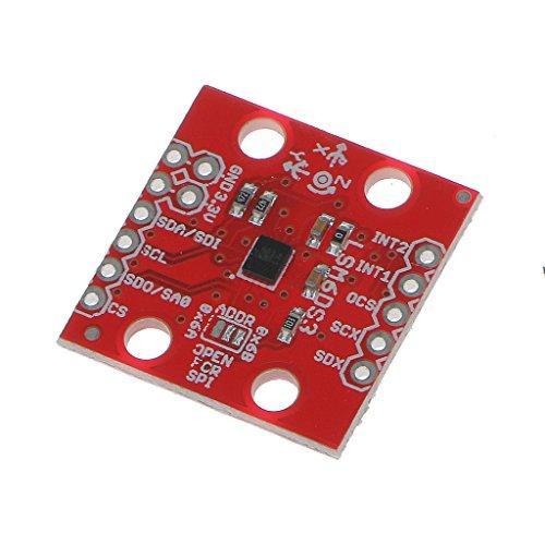 LSM6DS3 3軸 加速度計 ジャイロセンサ 6DOFモジュール IIC/SPI