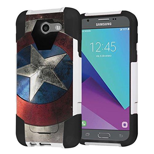 Galaxy J3 Prime / J3 Emerge / Express - Galaxy Note 2 Marvel Case