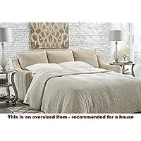 Ashley Mauricio Queen Sleeper Sofa in Linen