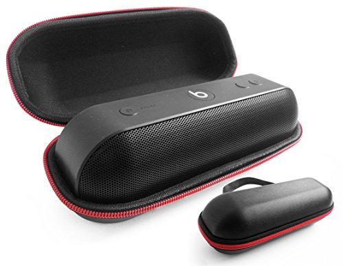FitSand (TM) Travel Zipper Protective Carry Hard Case Pouch Box Cover for Apple Dr. Dre Beats Pill+ Pill Plus Bluetooth Portable Speaker