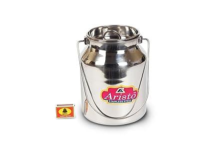Buy Aristo Stainless Steel Milk Oil Ghee Storage Container 4