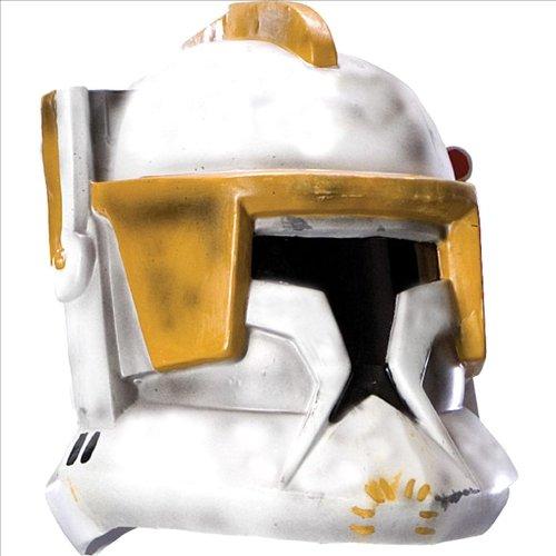[Adult Clone Trooper Cody 2-pc Helmet (Standard)] (Clone Trooper Commander Cody Child Costume)