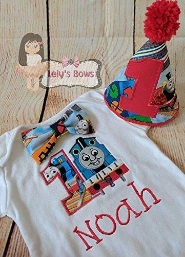 Amazon Thomas The Train 1st Birthday Outfit
