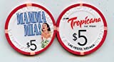 Real Live casino chip once used at the Tropicana in Las Vegas It is now Obsolete and Uncirculated condition after being pilled from circulation after the show was canceled. This makes this one one of the more scarce chips out there as not many got ou...