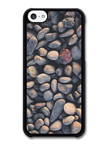 Pebbles on the Beach Texture Pattern Photography case for iPhone 5C