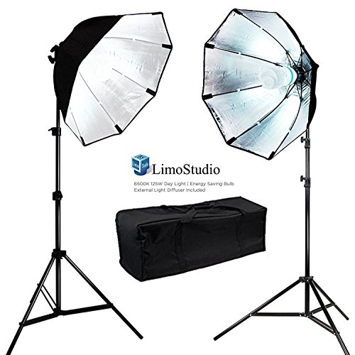 Digital Photography Video 800W Continuous Softbox Lighting Light Kit with Photo 105W Bulbs, AGG703 by LimoStudio