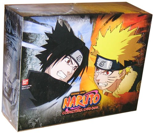 Naruto Battle of Destiny Booster Box - 24 packs of 10 cards by Bandai