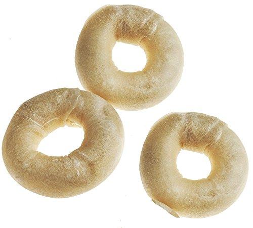 Tasman's 3-4 Inch Small Bison Bagels (3 Pack)
