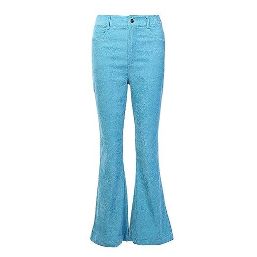 Luckycat Mujer Pantalones Ajustados con Cremalleras ...