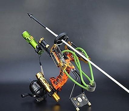 Fishing Bow Catapult Sling shot Laser Archery Slingbow Bowfishing Hunting Shot