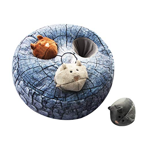 AIPINQI Dog Squeaky Toys Large Hide Seek Puzzle Plush Dog Toy Durable Interactive Dog Toys Large Medium Small Dogs, Pets, Christmas Dog Toy