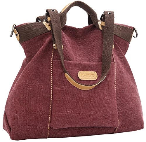 Burgundy Tote: Amazon.com