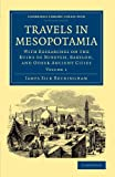 Front cover for the book Travels in Mesopotamia, with researches on the ruins of Babylon by James Silk Buckingham