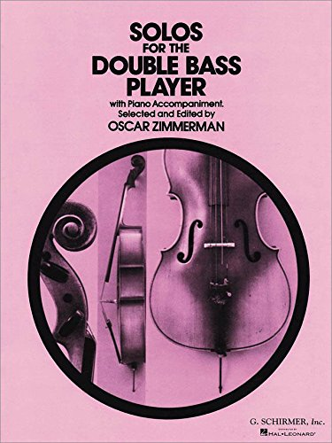 Partitions classique HAL LEONARD SOLOS FOR THE DOUBLE BASS-PLAYER Contrebasse ()