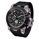 Jorg Gray Men's JG6700-11 Analog Display Quartz Black Watch