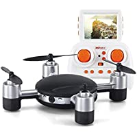 Funs Mini RC Helicopter Drone MJX X906T X-SERIEX With HD Camera 5.8G FPV With HD Camera Built in 2.31 Inches LCD Screen RC RTF Quadcopter With Headless Mode & One Key Return & 3D Flip