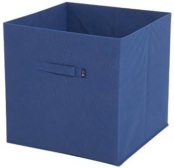 JoJo Maman Bebe Fabric Storage Cube, Navy