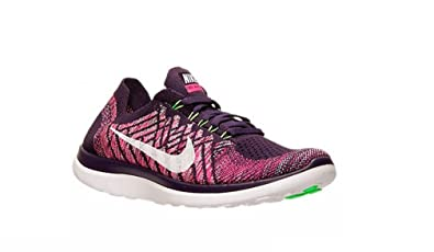 75a34f8532a0 Image Unavailable. Image not available for. Colour  Womens Nike Free 4.0 Flyknit  Trainers 717076 502 UK 3.5 EUR 36.5 US 6