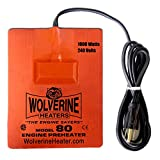 Wolverine Heaters - Model 80CSACE - 1000 Watts - Engine Oil, Reservoir, Biofuel and Hydraulic Fluid Heater - 240 Volts