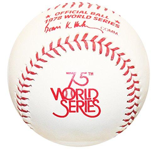 Rawlings 1978 World Series Official MLB Game Baseball - New York Yankees