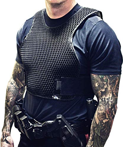 (Armadillo Dry Cooling Vest - Body Armor Ventilation, Air Flow for Ballistic and Tactical Vests, Keeps You Cool Under Internal Carriers and External Carriers (X-Large) )