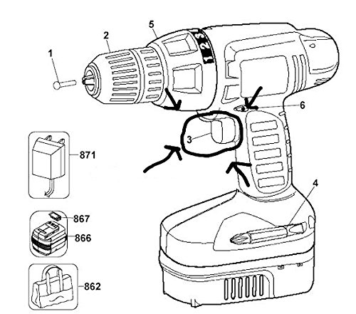 24 volt power drill - 9