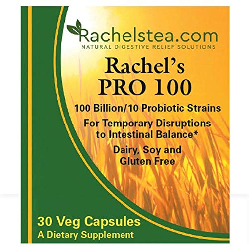 Rachel's Digestive Relief Tea diverticulitis colitis Crohn's specialty tea soothing digestion with 100 billion probiotic count intestinal flora build strengthen by Rachel's Tea (Image #5)