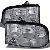 GMC Sonoma Jimmy Oldsmobile Bravada OE Replacement Chrome Bezel Headlights Driver/Passenger Pair