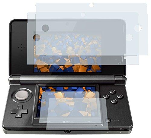 4x mumbi Displayschutzfolie Nintendo 3DS 3 DS Displayschutz