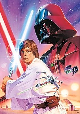Buffalo Games Star Wars -Luke Skywalker and Darth Vader - 300 Large Piece Jigsaw Puzzle