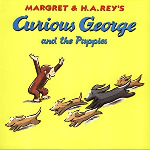 Curious George and the Puppies (Unabridged) Audiobook