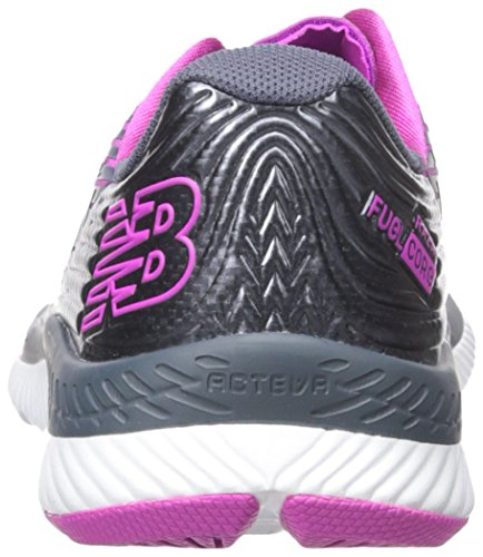 New Balance Women's Razah V1 Running Shoes, Thunder/Poisonberry, 9 D US