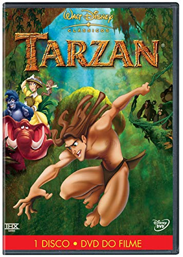 Tarzan DVD Simples Tony Goldwyn