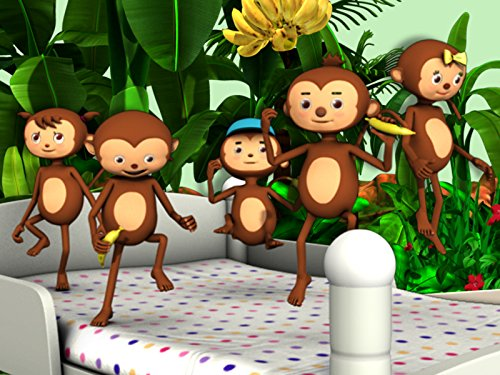 Five Little Monkeys (Beds Beds More And)