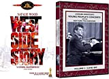 People's Young Classical Concert Leonard Bernstein Lincoln Center Vol. 2 New York Philharmonic Orchestra 9 DVD Set + The Classic Musical West Side Story