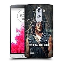 Official AMC The Walking Dead Look Daryl Dixon Hard Back Case for LG G3 / D855 / D850 / D851