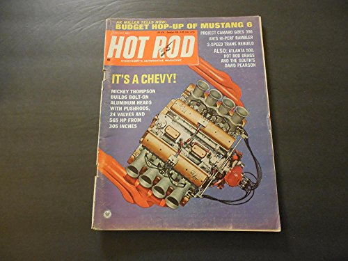 Hot Rod Jun 1967 Mickey Thompson Bolt On Aluminum Heads 565 hp, 305ci