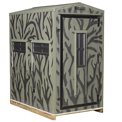 Hunter Flooring - Shadow Hunter Outdoorsman Series OD44GK 4'x4' Insulated Gun Hunting Blind Kit