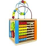 ColorBaby - Centro de actividades, madera y ábaco (42745)
