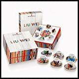 ILLY ART COLLECTION - Coffee Set by LIU WEI - 6 CAPPUCCINO + 6 Saucers