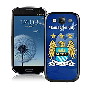 Beautiful And Fashional Designed Cover Case For Samsung Galaxy S3 I9300 With Manchester City Black Phone Case 3