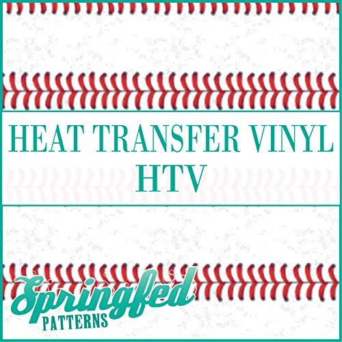 Baseball STITCH STRIPE Pattern HTV Heat Transfer Vinyl 12