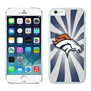Iphone 6 Cover Case Denver Broncos iPhone 6 4.7 Inches Cases 06 White Plastic Protective Phone Case
